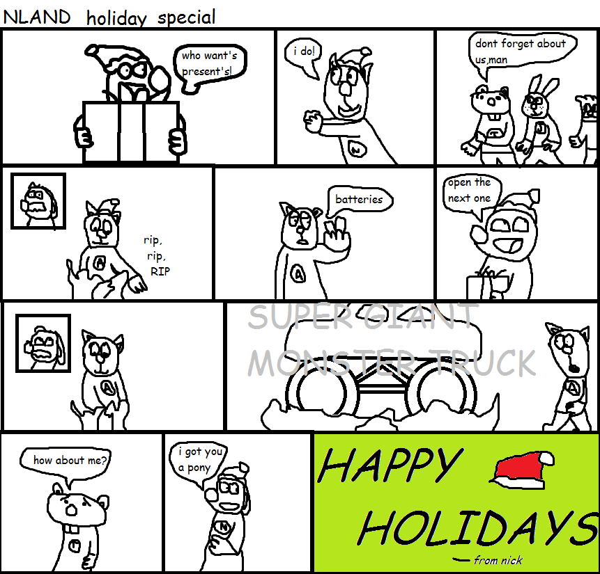 NLAND holiday special 2012